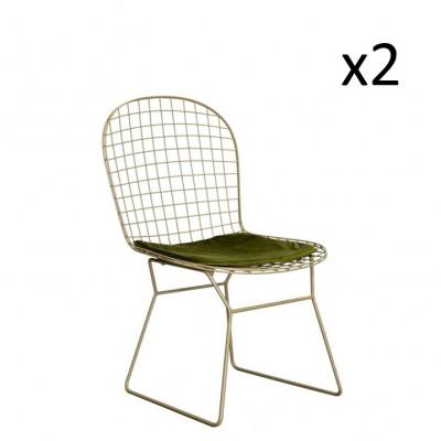 Scala Hocker 2er-Set   Grün