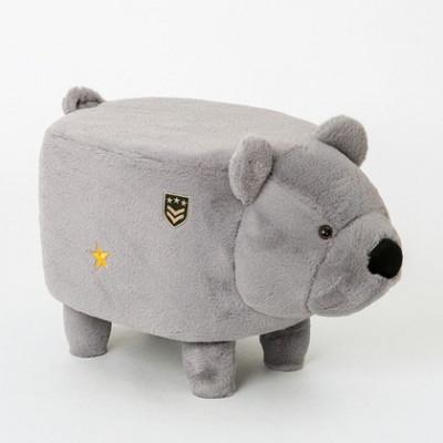 Pouf | Bär Grau