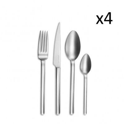Besteckset | Guerande | 16 Stück | Silber