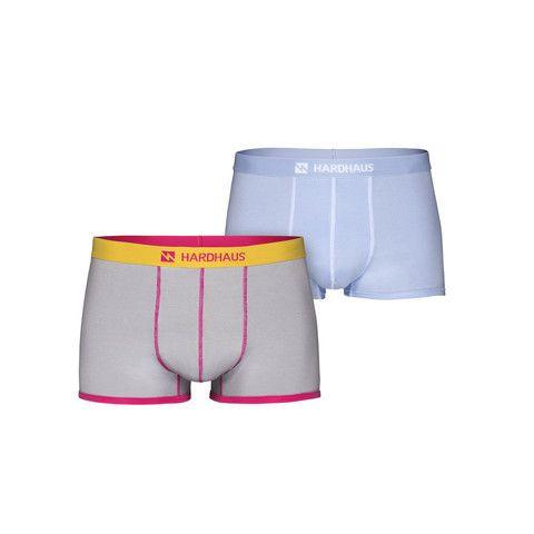 Boxershorts Set/2 | Cool Gray & Staple Light Blue