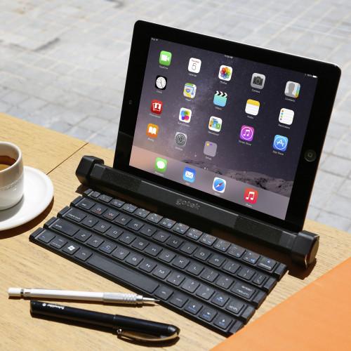 Gotype Roll-Out Keyboard & Bluetooth Speaker 2 in 1