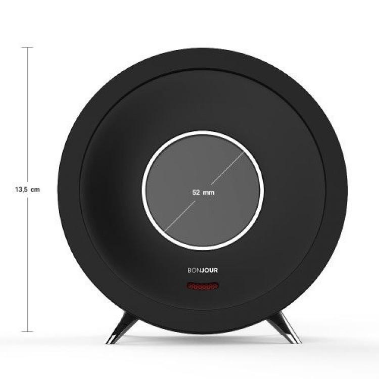 Bonjour Smart Alarm Clock | Black