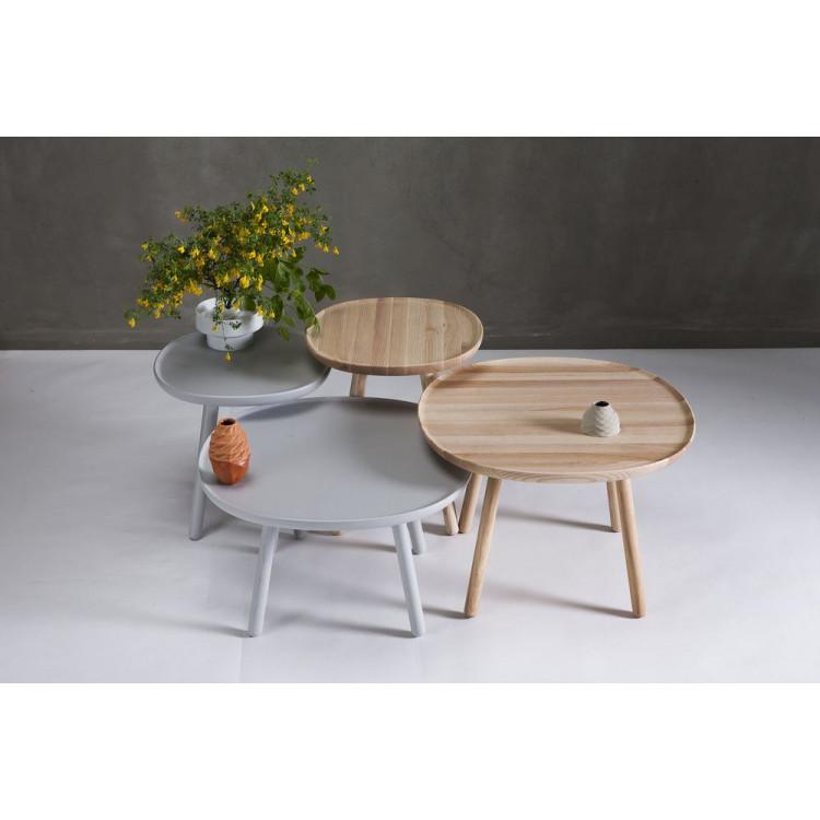 Side Table Naive   Natural Oiled