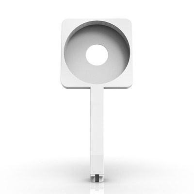 Magnetic Mount mit Magsafe-Ladegerät | Weiß