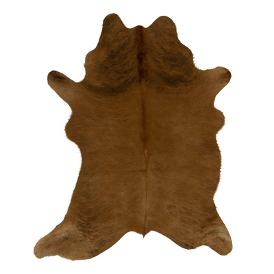 Woooly® Einzigartig Kuhhaut    Braun & Dunkelbraun