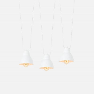 Pendant Lamp Adjustable Coben Hangman 3 | White