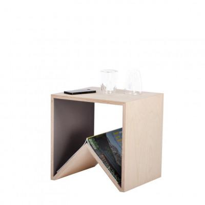 Carius&Bactus Side Table | Warm Grey