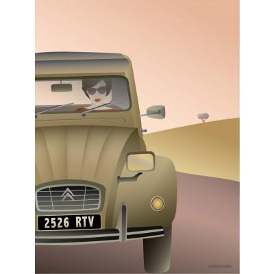 Poster   2 CV Citroën