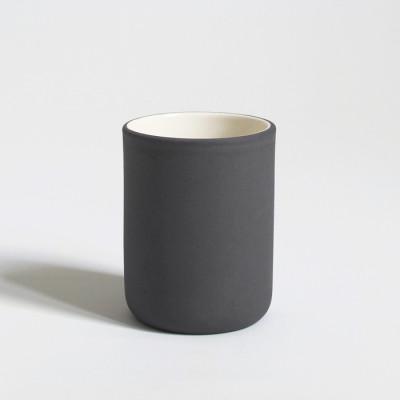 Kaffeetassen-Set mit 6 Stück | Dunkelgrau