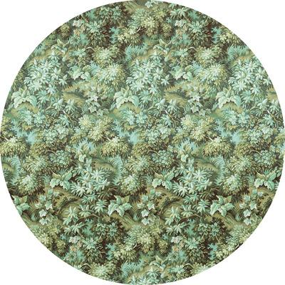 Runde Fototapete Greenery | Grün
