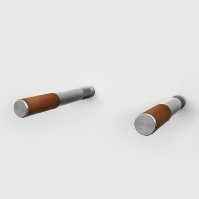 Macmilano Duetto Vintage Metallic | Braun-Aluminium