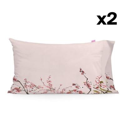 Kissenbezug 50 x 75 | Chinoiserie Rosac| 2er-Set