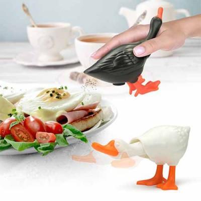 Shaky Duck Pepper & Salt Shaker Set of 2
