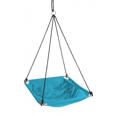 Balance-Schwung   Aquablau