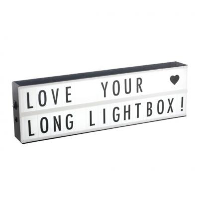 2 Line Landscape Lightbox