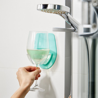 Wine Glass Holder SIPSKI | Seafoam Green