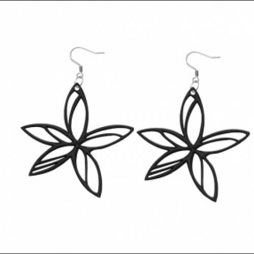 Hawaï Earrings | Black