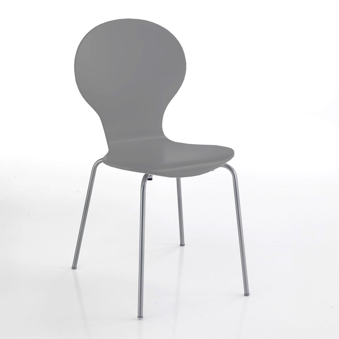Set of 4 | Chair Baldi | Grey