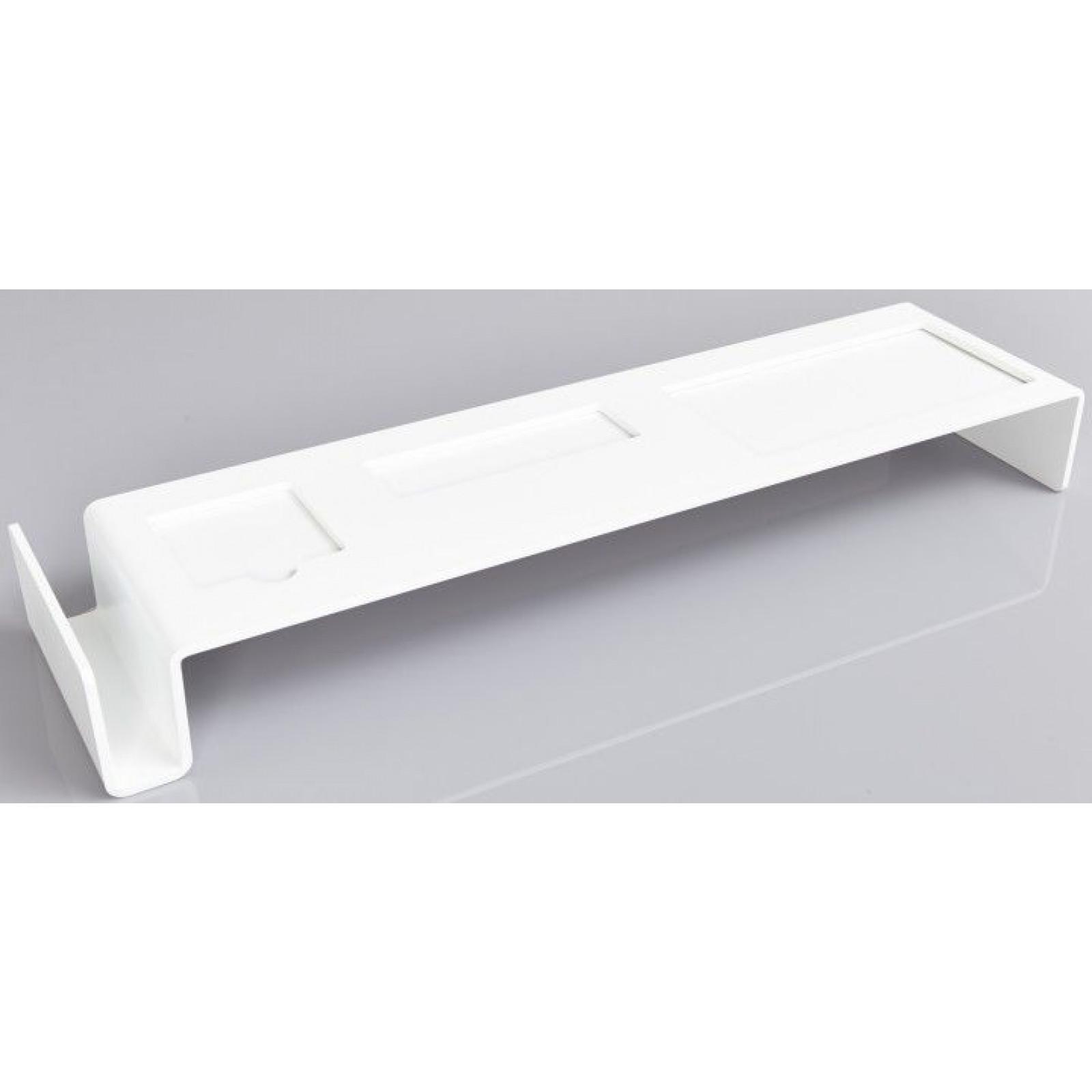 Schreibtischbrücke | Weiß