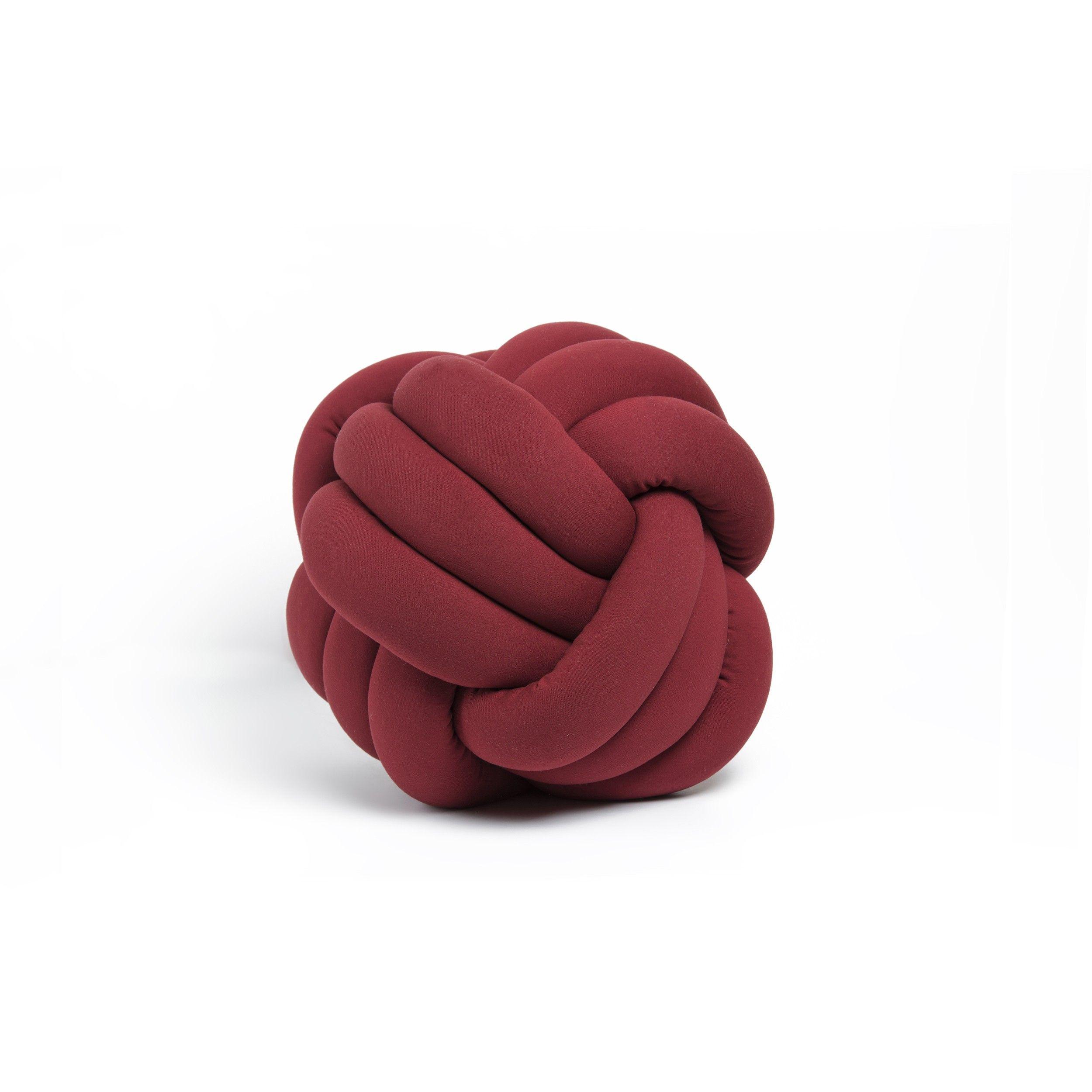 Decoratief Kussen Knot | Bordeaux
