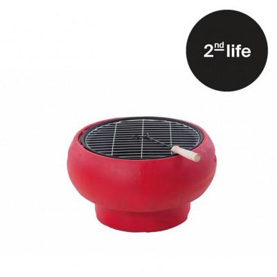 2tes Leben | Tragbarer Grill TUB | Rot