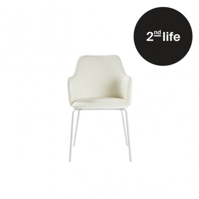 2tes Leben | 2er-Set Stühle Oslo | Weiß