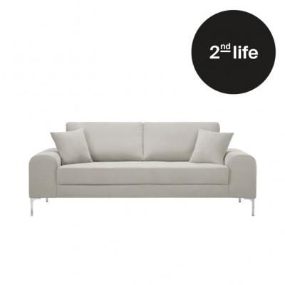 2tes Leben | 3-Sitzer-Sofa Dillinger | Sahne