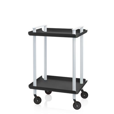 Trolley Leky H 73 cm | Grau-Schwarz