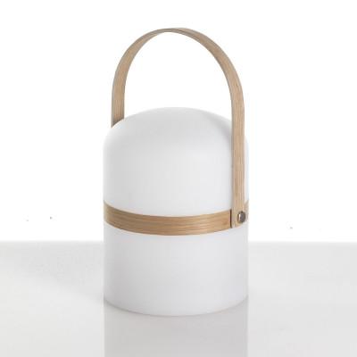 Wireless Tischlampe Pol | Weiß