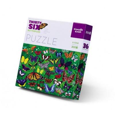 300 Pieces Puzzle | Butterflies