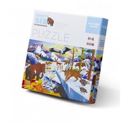 300 Pieces Puzzle | Ice Age Animals