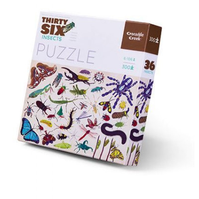 300 Pieces Puzzle | Insects
