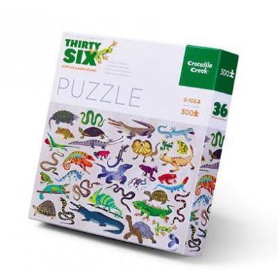 300 Pieces Puzzle | Reptiles & Amphibians