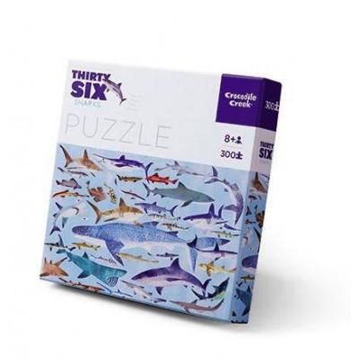 300 Pieces Puzzle | Sharks