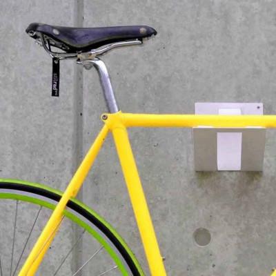 Fahrrad-Wandhalterung Bikelift   Weiß