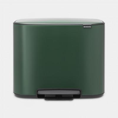 Mülleimer Bo 36 L   Grün