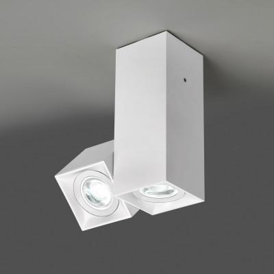 Deckenlampe Dau 204 | Mattweiß lackiert