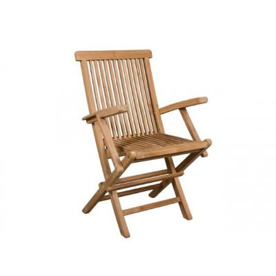 Foldable Armchair   Teak
