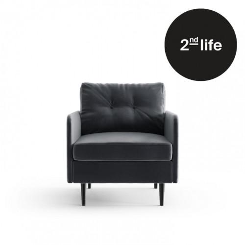 2nd Life | Armchair Memphis | Anthracite / Dark Grey