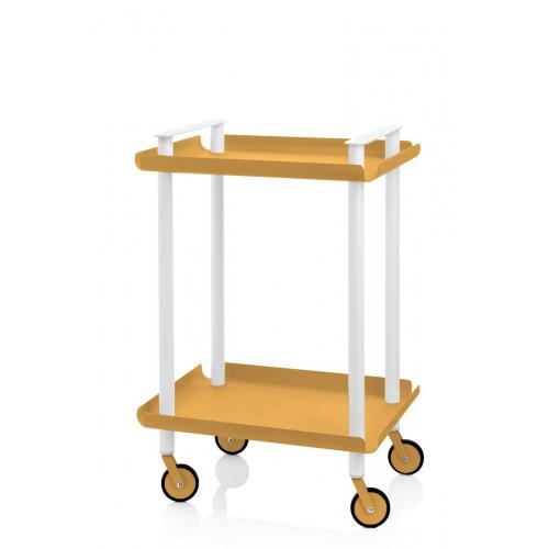 Laufwagen Leky H 73 cm | Weiß-Gelb