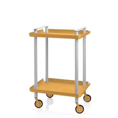 Laufwagen Leky H 73 cm | Grau-Gelb
