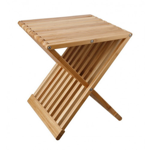 Coffee Table Tiger   Bamboo Wood