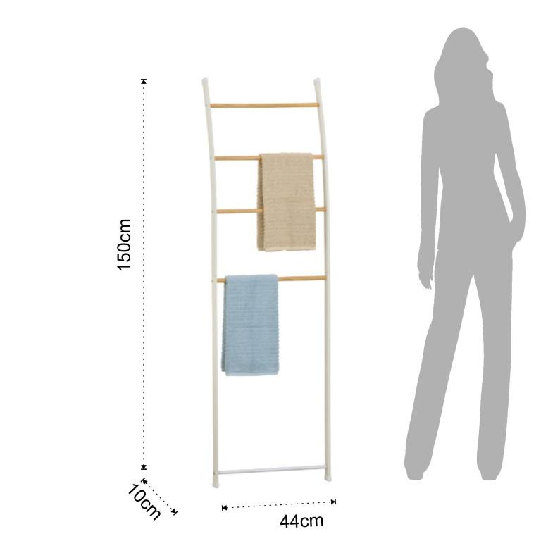 Wall Towel Rack + Decorative Stairs Rino