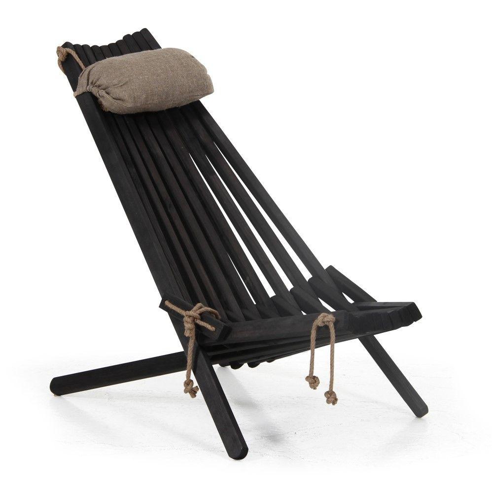 Stuhl Ribbon | Schwarz
