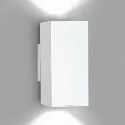 Wandleuchte Dau | Weiß lackiert