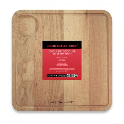 Holzschneidebrett 'Le Couteau du Chef'