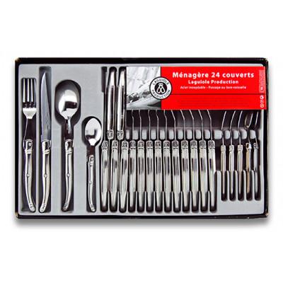 Besteck-Set mit 24 Teilen | M24 | Silber