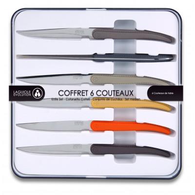 6er-Set Steakmessern Evolution | Multicolor