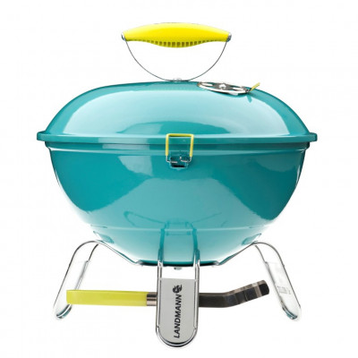 Barbecue Piccolino   Charcoal   Turquoise