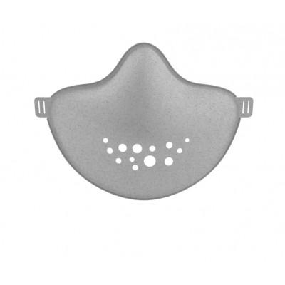 Nachhaltige Gemeinschaftsmaske (Keine Atemschutzmaske nach FFP-Normen) | Grau